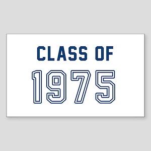Class of 1975 Sticker