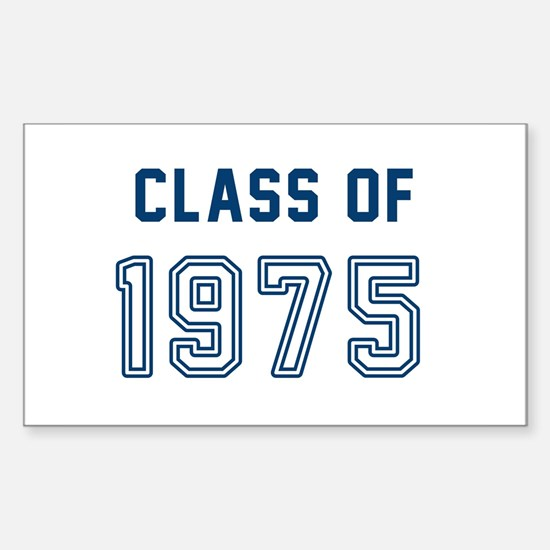 Class of 1975 Decal