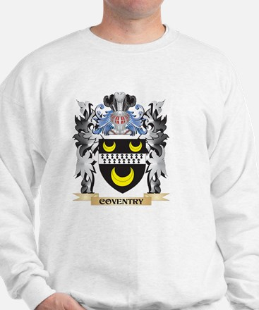 Coventry Coat of Arms - Family Crest Sweatshirt