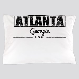 Atlanta Georgia Pillow Case