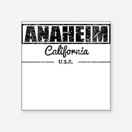 Anaheim California Sticker