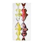 Four Indo-Pacific Goatfish Beach Towel