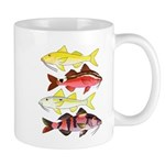 Four Indo-Pacific Goatfish Mugs