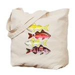 Four Indo-Pacific Goatfish Tote Bag