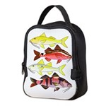 Four Indo-Pacific Goatfish Neoprene Lunch Bag