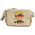 Four Indo-Pacific Goatfish Messenger Bag