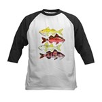 Four Indo-Pacific Goatfish Baseball Jersey