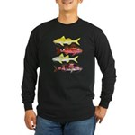 Four Indo-Pacific Goatfish Long Sleeve T-Shirt