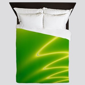 Yellow Streak Queen Duvet