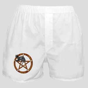 Bast Goddess Pentacle Boxer Shorts
