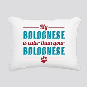 Cuter Bolognese Rectangular Canvas Pillow