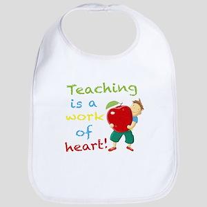 Inspirational Teacher Bib