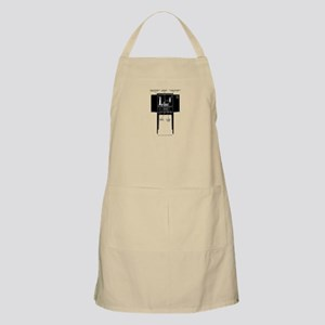 Labeled Parts BBQ Apron