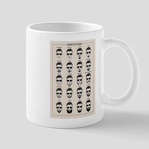 beard style guide Mugs