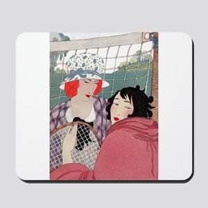 VOGUE - Love Forty - A Day Of Tennis Mousepad