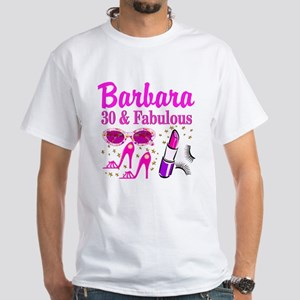 30TH PRIMA DONNA White T-Shirt