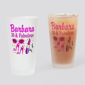 30TH PRIMA DONNA Drinking Glass