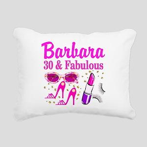 30TH PRIMA DONNA Rectangular Canvas Pillow