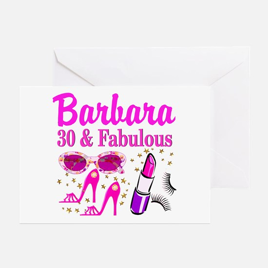 30TH PRIMA DONNA Greeting Cards (Pk of 10)