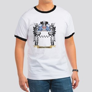 Crawford Coat of Arms - Family Cres T-Shirt