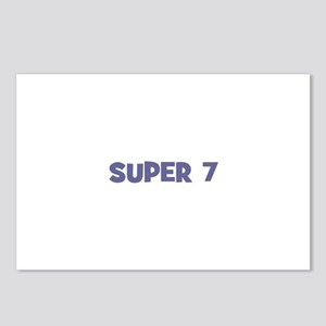 Super 7 Postcards (Package of 8)