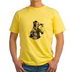 Ada Mascot Logo Yellow T-Shirt