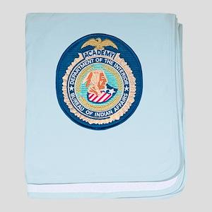 Bureau of Indian Affairs Academy baby blanket