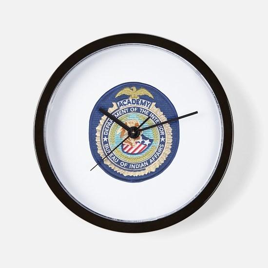 Bureau of Indian Affairs Academy Wall Clock