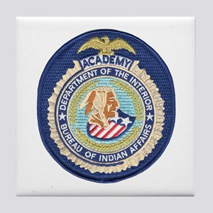 Bureau of Indian Affairs Academy Tile Coaster