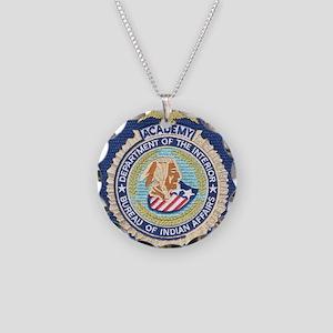 Bureau of Indian Affairs Aca Necklace Circle Charm