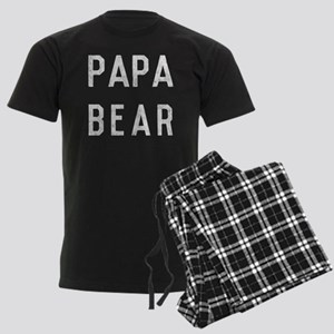 Papa Bear Men's Dark Pajamas