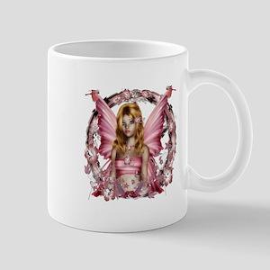 Beautiful Pink Fairy Mugs