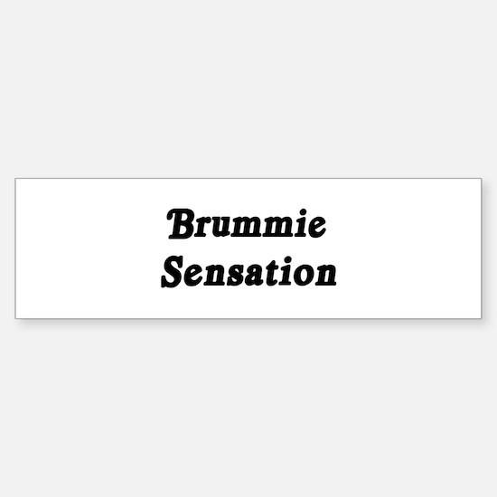 Brummie Sensation Bumper Bumper Bumper Sticker