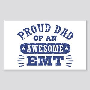 Proud Dad of an Awesome EMT Sticker (Rectangle)
