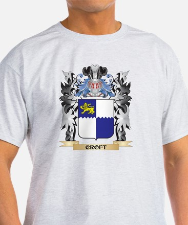 Croft Coat of Arms - Family Crest T-Shirt