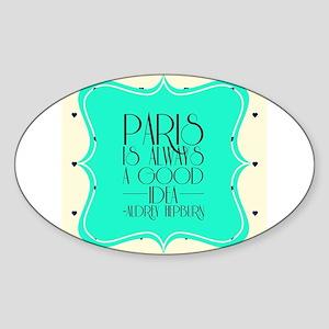Audrey's Quote Sticker
