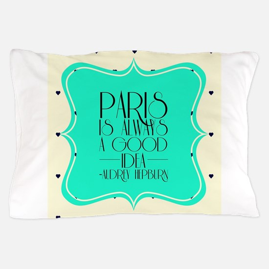 Audrey's Quote Pillow Case