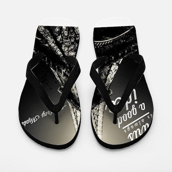 Audrey Hepburn Paris Flip Flops
