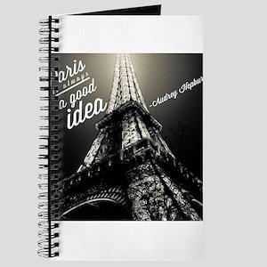 Audrey Hepburn Paris Journal