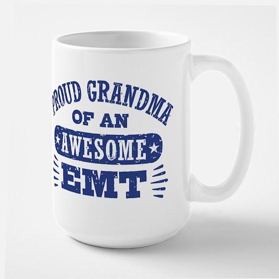 Proud Grandma of an Awesome EMT Large Mug