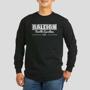 Raleigh North Carolina Long Sleeve T-Shirt