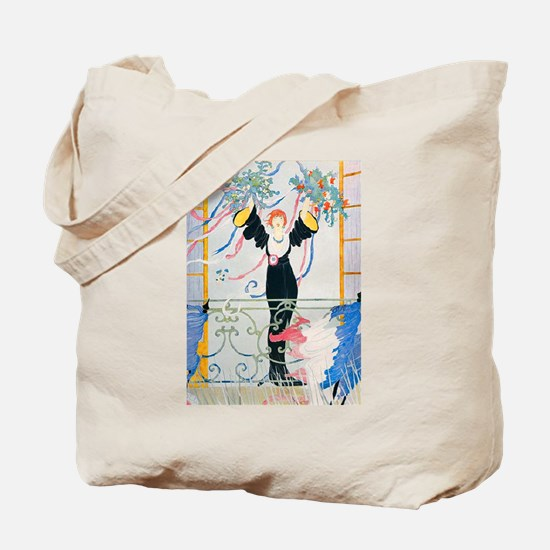 VOGUE - Peace and Victory in France Tote Bag