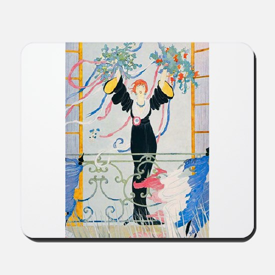 VOGUE - Peace and Victory in France Mousepad