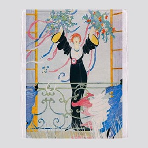 VOGUE - Peace and Victory in France Throw Blanket