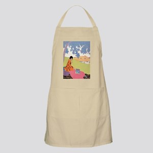 VOGUE - Woman Reading in the Shade Apron