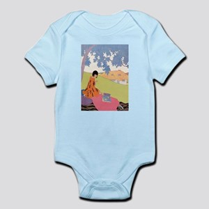 VOGUE - Woman Reading in the Shade Infant Bodysuit