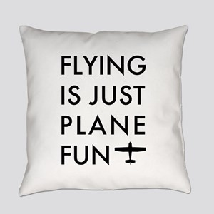 Plane Fun Flying 1504 Everyday Pillow