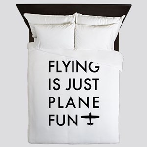 Plane Fun Flying 1504 Queen Duvet