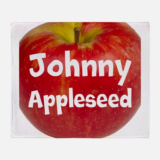 Johnny Appleseed Throw Blanket
