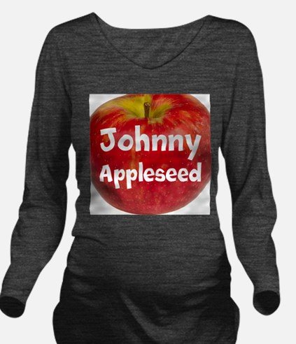 Johnny Appleseed Long Sleeve Maternity T-Shirt